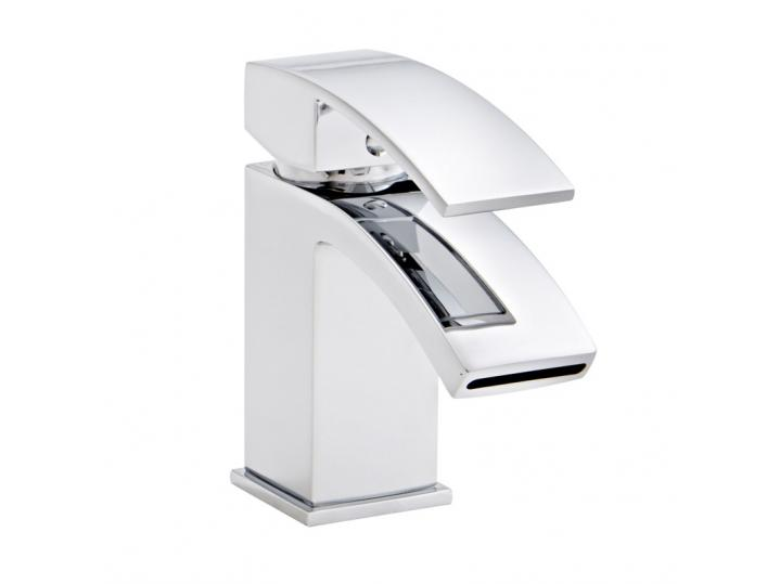 Flair Mono Basin Mixer with Click Waste image