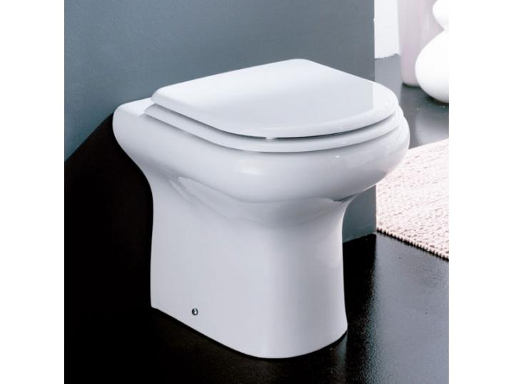 RAK Compact Rimless Back-to-Wall Toilet WC - Soft Close Seat image