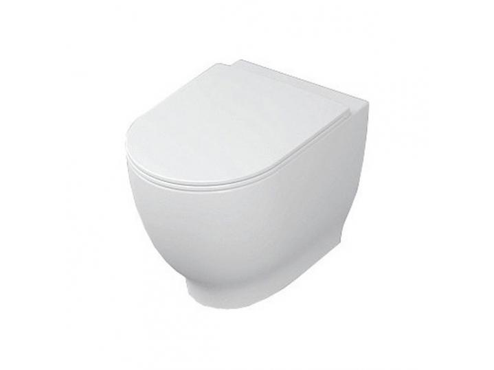RAK Harmony Back-to-Wall Toilet WC 560mm Projection - Soft Close Seat image