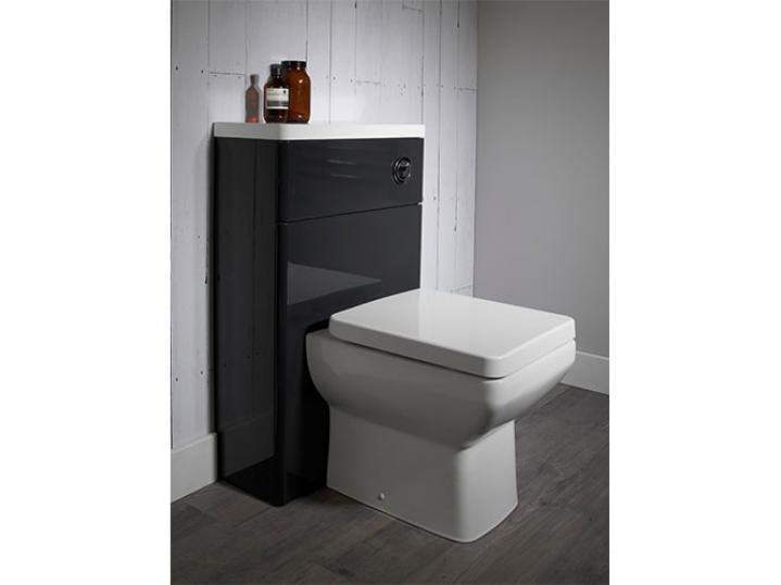 Tavistock Q60 Back-To-Wall Toilet WC 460mm Projection with Soft Close Seat image