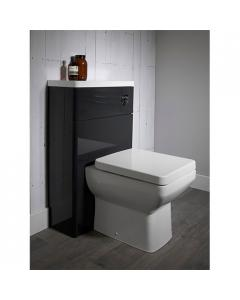 Tavistock Q60 Back-To-Wall Toilet WC 460mm Projection with Soft Close Seat