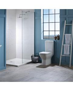 Tavistock Structure Comfort Height Toilet WC with Push Button Cistern & Soft Close Seat