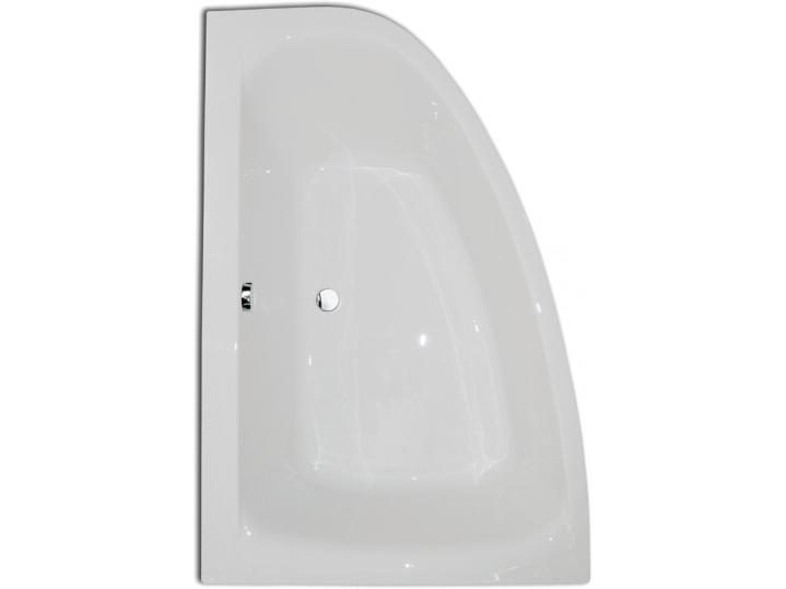 Cloud 1500 x 1000mm Offset Corner Bath with Corner Panel image