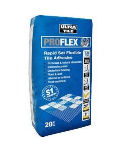Ultra SP20 Grey Tile Adhesive 20kg