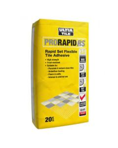Ultra RS20 Grey Tile Adhesive 20kg