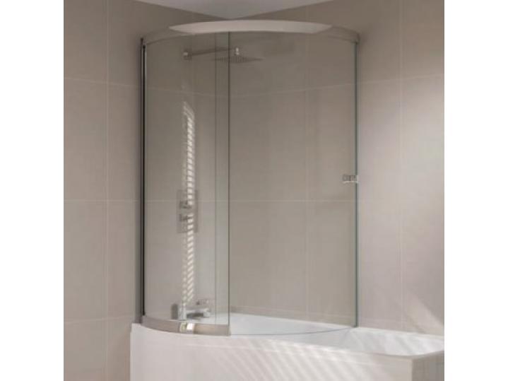 Prestige P Shaped Sliding Bath Screen image