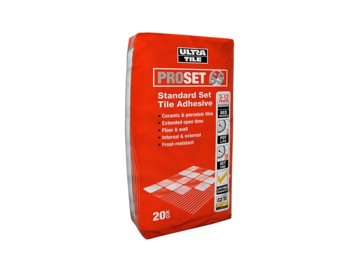 Ultra ProSet SS Standard Set Tile Adhesive image
