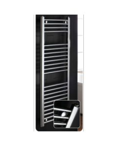 Flat 700 x 600 Central Heating Towel Warmer