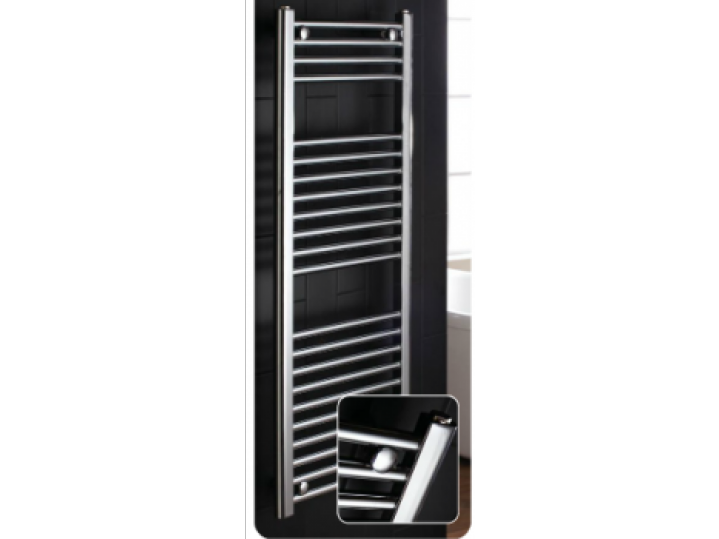 Flat 1350 x 600 Central Heating Towel Warmer image