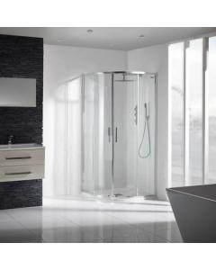 Aquaglass+ Sleek Quad Shower Enclosure