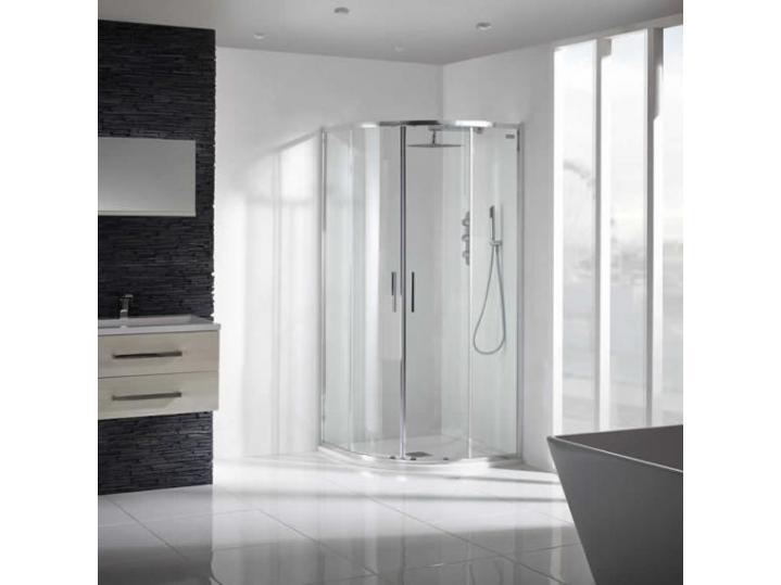 Aquaglass+ Sleek Quad Shower Enclosure image