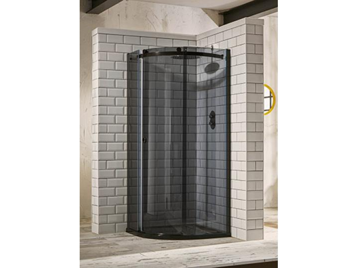 Aquaglass+ Sphere 1 Door Tinted Quad Shower Enclosure image