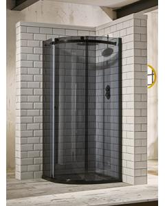 Aquaglass+ Sphere 1 Door Tinted Quad Shower Enclosure