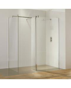 Aquaglass Purity Straight Walk-In Shower Enclosure