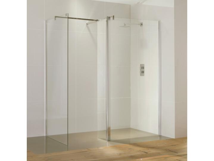 Aquaglass Purity Straight Walk-In Shower Enclosure image