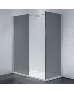 Identiti2 Smoked Glass Walk-In Shower Enclosure