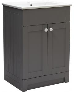 Aquamode Range 1 Dust Grey Vanity Unit with Ceramic Basin