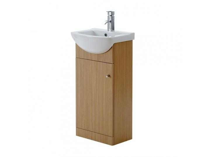 Aquapure light oak vanity unit 450mm aquapure light oak vanity unit 450mm image aloadofball Image collections