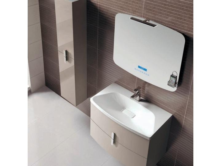 Frontline Grandeur Taupe Vanity Unit 800mm & Ceramic Basin image