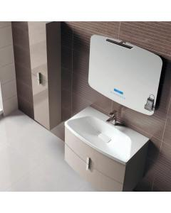 Frontline Grandeur Taupe Vanity Unit 800mm & Ceramic Basin