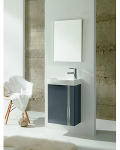 Royo Elegance Wall Hung Cloakroom Unit Pack Gloss Grey
