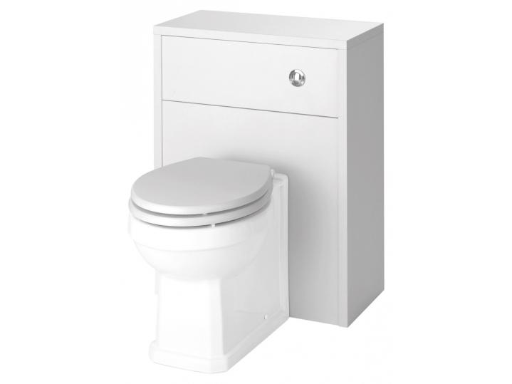 Astley White Ash 500mm WC Pan, Cistern and Soft Close Seat image