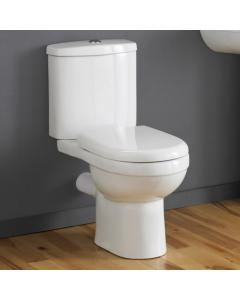Cassellie Daisy Lou Close Coupled WC Toilet with Cistern & Seat