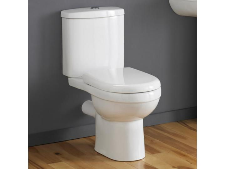 Cassellie Daisy Lou Close Coupled WC Toilet with Cistern & Seat image