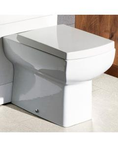 Cassellie Daisy Lou Back to Wall WC Toilet with Seat
