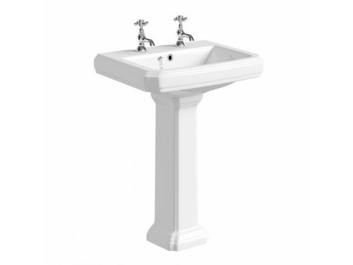 Astley 600mm 2th Basin & Pedestal image