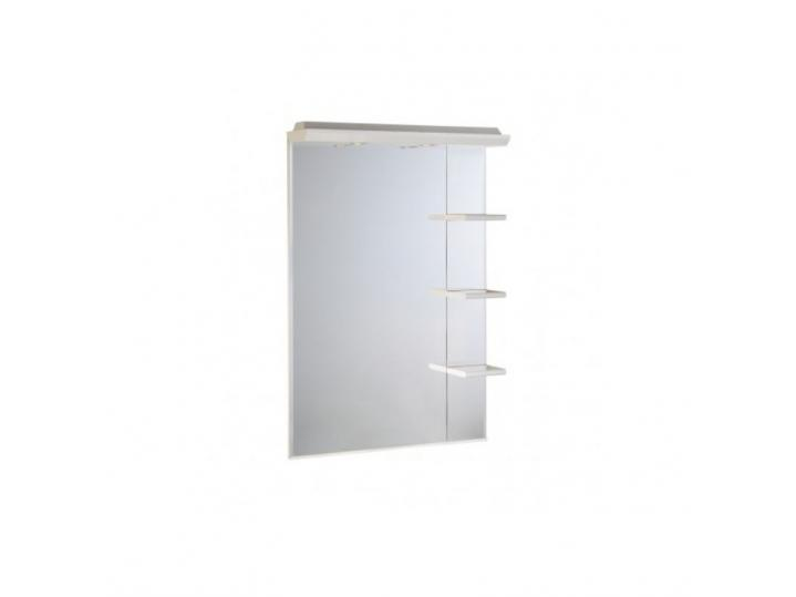 Valencia 700mm Mirror With Shelves & Canopy image