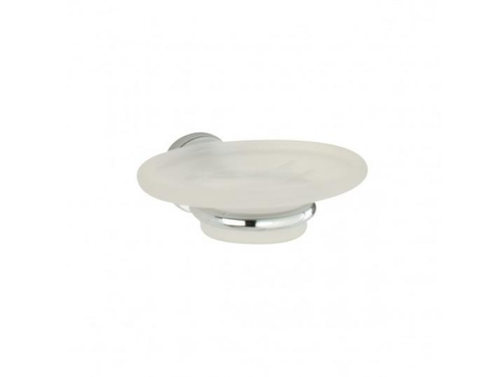 Minima Frosted Glass Soap Dish & Holder image