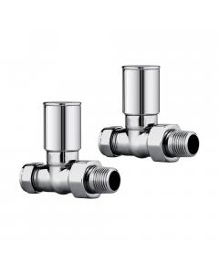 Straight Round Head Valve Set