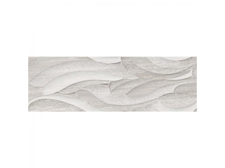London Grey Decor Wall Tile - 25x75 image