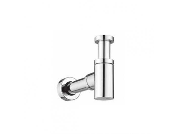 Cassellie Chrome Round Bottle Trap & Outlet Pipe image