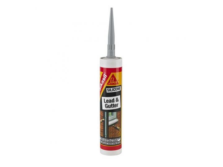 Sika Silicone Lead And Gutter - Grey 300ml image