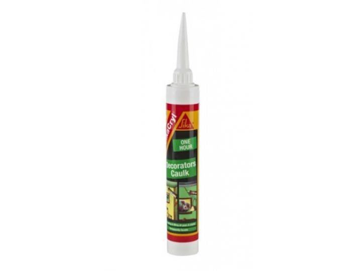 Sika Decorators Caulk - WHITE 380ML image