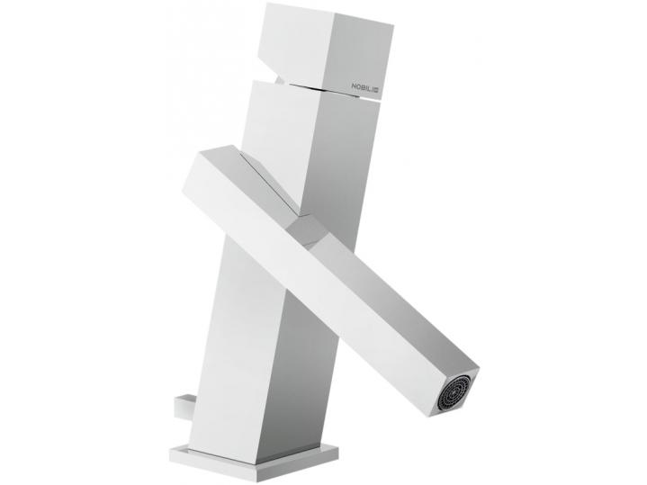 AquaFlow Tower Washbasin Mixer Tap Inc Pop-Up Waste image