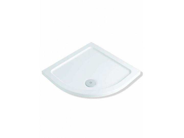 900x900mm Quadrant Shower Tray Includes Shower Trap image