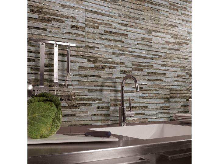 Beige Jungle Mix Wall Tile image