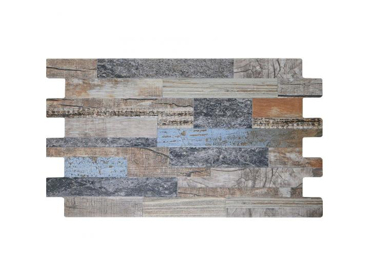Cork Blue Split Face Porcelain Tile image