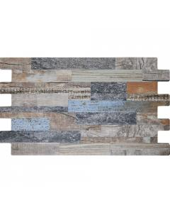 Cork Blue Split Face Porcelain Tile