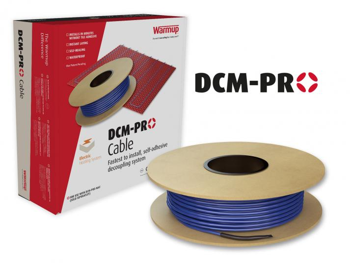 Warmup DCM PRO . Area 2m2 at 150W per m2. DCMC2 image