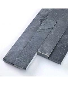 Splitface Black Slate 100x360mm