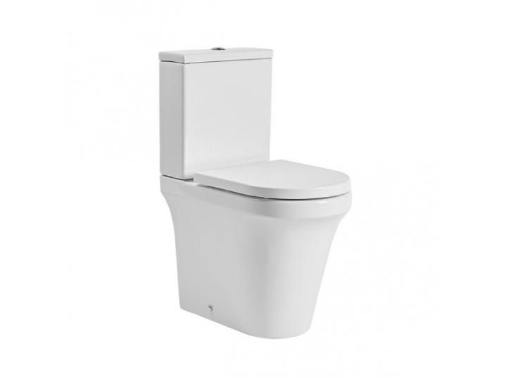 Aerial Comfort Height Open Back Pan/Cistern/Soft Closing Seat image