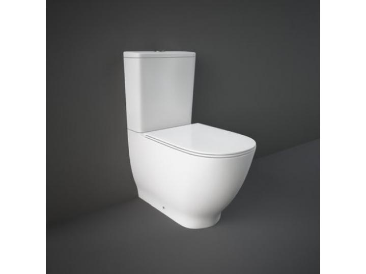 Moon Close Coupled WC Closed Back With Soft Toilet Seat image