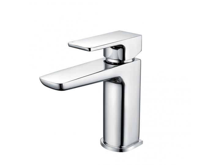 Moon Chrome Basin Mixer Standard Included Waste image