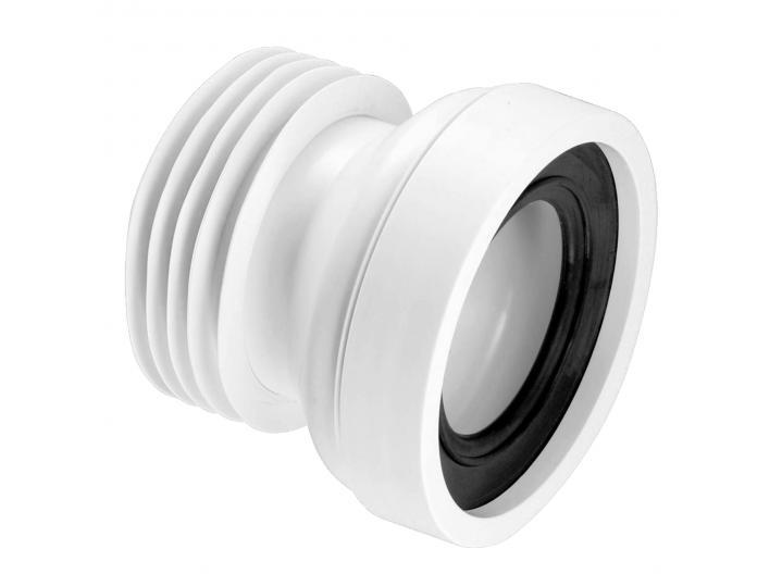 McAlpine WC-CON1 Straight Rigid WC Pan Connector 110mm image