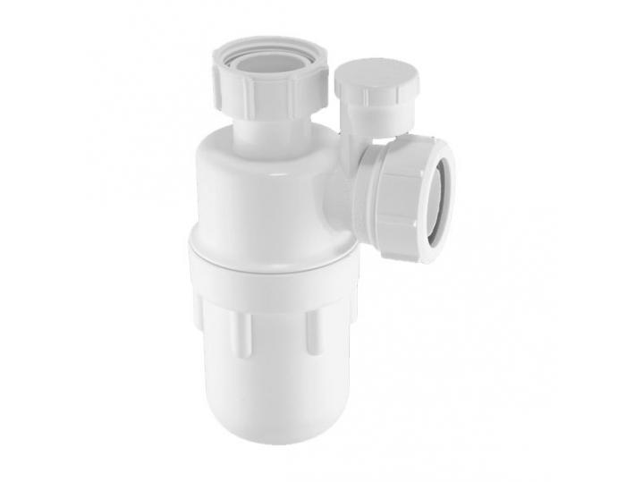 """McAlpine A10V 1¼"""" Anti-Syphon Bottle Trap with 75mm Water Seal image"""