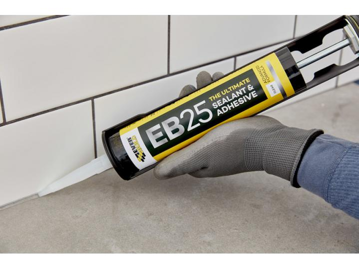 Everbuild EB25 The Ultimate Sealant And Adhesive White 300ML image